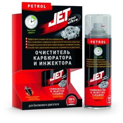 JET100 ULTRA Універсальний очисник карбюратора і інжектора