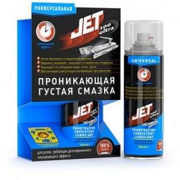 JET100 ULTRA Универсальная проникающая густая смазка-спрей