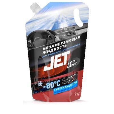 Жидкость для омывания стекол автомобиля JET 100 Ultra -80 ⁰С