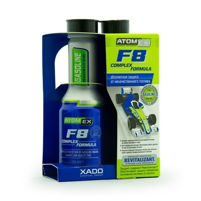 F8 Complex Formula (Gasoline) - захист двигуна внутрішнього згоряння