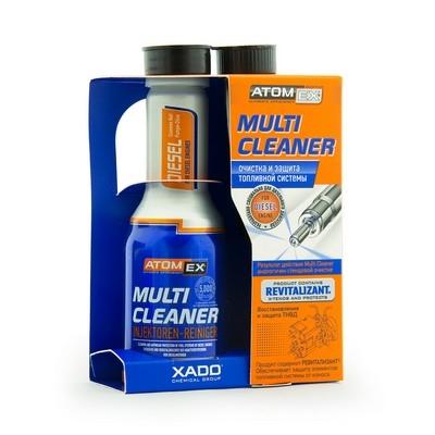 Очиститель топливной системы дизеля Multi Cleaner (Diesel)  - Промывка топливной системы