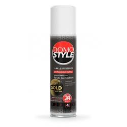 Лак для волосся DOMO STYLE золотисті мікроблискітки 150 мл (XD 11099_1)