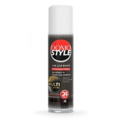 Лак для волос DOMO STYLE мульти с микроблестками 150 мл (XD 11099_3)