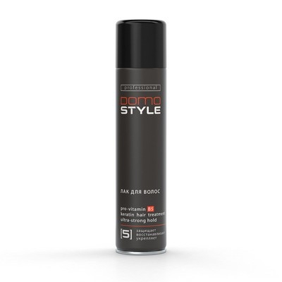 Domo Style 5 - лак для волос, ультрасильная фиксация