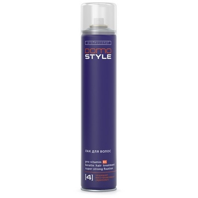 Domo Style 4 - лак для волос, сверхсильная фиксация