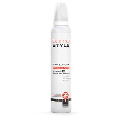 Domo Style 3 - пінка для волосся, сильна фіксація