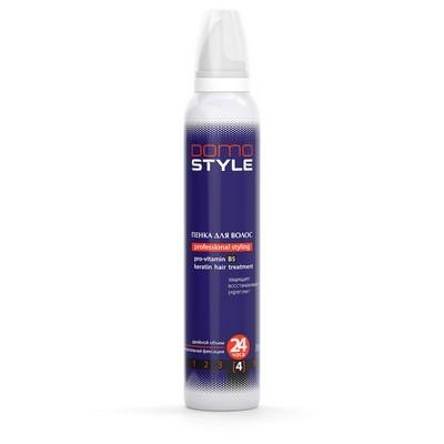 Domo Style 4 - пінка для волосся, сверхсильна фіксація