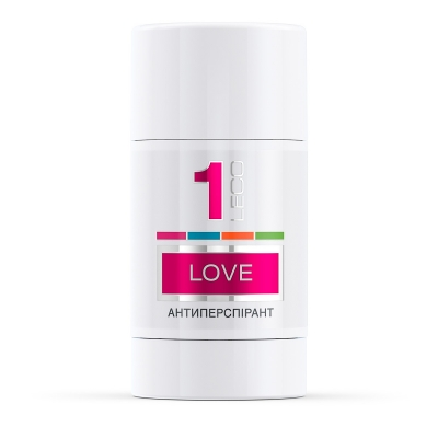 LECO Дезодорант-антиперспирант Love, 1 for women