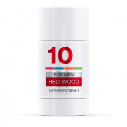 LECO Дезодорант-антиперспирант RED WOOD, 10 for men 75 мл (XL 10019)