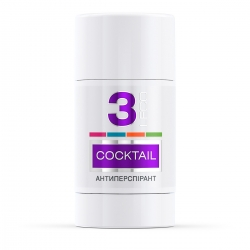 LECO Дезодорант-антиперспирант COCKTAIL, 3  for women 75 мл (XL 10012)