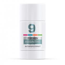 LECO Дезодорант-антиперспирант ABSINTHE, 9  for men 75 мл (XL 10018)