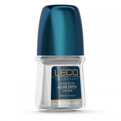Дезодорант-антиперспирант LECO Seven Active Azure Depth for men 50 мл (ХL 10005)