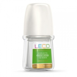 Дезодорант-антиперспирант LECO  Seven Active Fresh Herbs for women 50 мл (XL 10007)