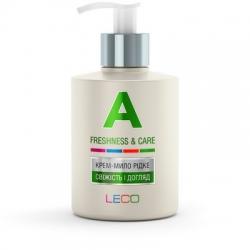 LECO Крем-мило рідке «A»  «Свіжість і догляд» 300 мл (XL 40025)