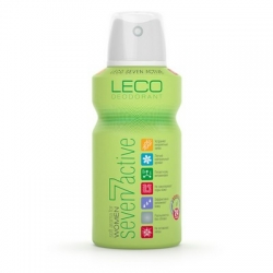 Дезодорант-антиперспирант «LECO» Seven Active for women GREEN 150 мл (XL 10002_1)