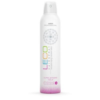 Лак для волос  LECO, ультрасильная фиксация ( 5 )