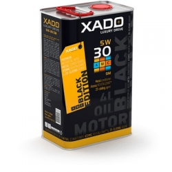 Синтетична олива 5W-30 SM/CF XADO LX AMC Black Edition 4 л (ХА 22273)