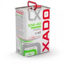 Синтетическое масло 10W-40 SYNTHETIC XADO Luxury Drive  4 л (ХА 20275)