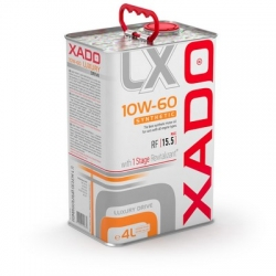 Синтетическое масло 10W-60 SYNTHETIC XADO Luxury Drive 4 л (ХА 20276)