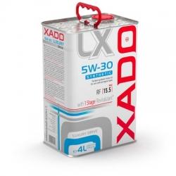 Синтетическое масло 5W-30 SYNTHETIC XADO Luxury Drive 4 л (ХА 20273)