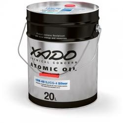 Минеральное масло 15W-40 SJ/CG-4 Silver XADO Atomic Oil  20 л (XA 28530)