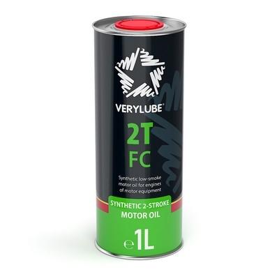 Синтетична олива для двотактних двигунів Verylube 2T FC