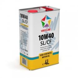Полусинтетическое масло 10W-40 SL/CF Verylube  4 л (ХВ 20268_1)