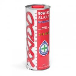 Минеральное масло 20W-50 SL/CI-4 XADO Atomic Oil  1 л (ХА 24115)