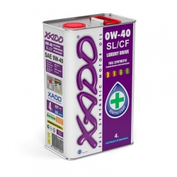 Синтетическое масло 0W-40 SL/CF XADO Atomic Oil  1 л (XA 20102)