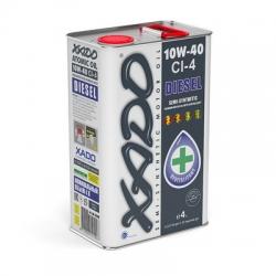 Напівсинтетична моторна олива 10W-40 CI-4 Diesel XADO Atomic Oil 4 л (XA 20249)
