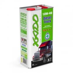 Напівсинтетична олива 10W-40 Diesel Truck XADO Atomic Oil 5 л (XA 20310)