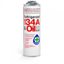 Газ-хладагент с маслом XADO REFRIGERANT 134a & Oil 650 мл (XA 60102)