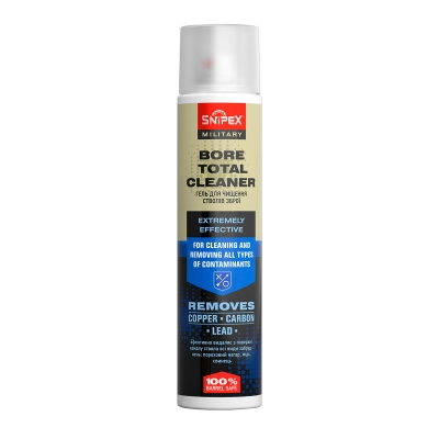 SNIPEX MILITARY BORE TOTAL CLEANER. Гель для чистки стволов