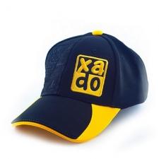 Бейсболка XADO (чорна з жовтим)