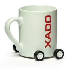 Кружка XADO на колесиках