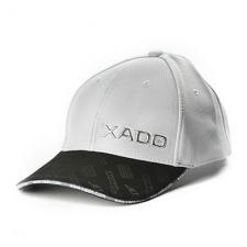 Бейсболка XADO (сіра ізчорним)