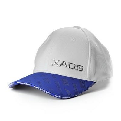 Бейсболка XADO (белая с синим)