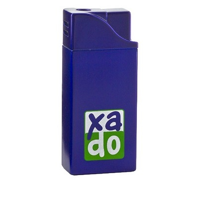 Фирменная зажигалка с логотипом «XADO», 53х22х12 мм