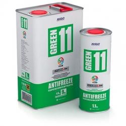 Antifreeze Green 11 - концентрат для системы охлаждения двигателя 1,1 кг (XA 50002_)