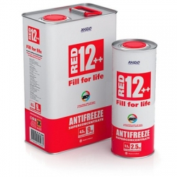 Концентрат антифриза для двигателя Antifreeze Red 12++ 1,1 кг (XA 50008)