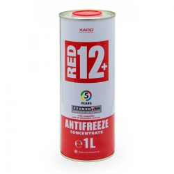 Концентрат антифриза для двигателя Antifreeze Red 12+ 1.1 кг (XA 50001_)