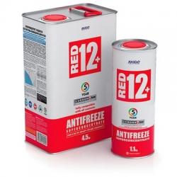Концентрат антифриза для двигателя Antifreeze Red 12+ 60 л (XA 50601)