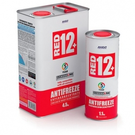 Концентрат антифриза для двигателя Antifreeze Red 12+