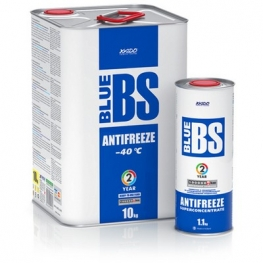 Антифриз для двигателя Antifreeze Blue BS -40⁰С
