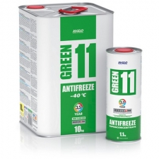 Антифриз для двигателя Antifreeze Green 11 -40⁰С