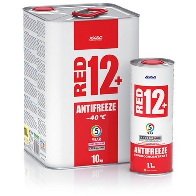 Антифриз для двигателя Antifreeze Red 12+ -40⁰С