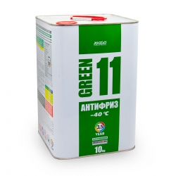 Антифриз для двигателя Antifreeze Green 11 -40⁰С 10 кг (XA 50406_)