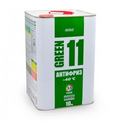 Антифриз для двигателя Antifreeze Green 11 -40⁰С 10 кг (XA 50406_)