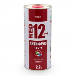 Антифриз для двигателя Antifreeze Red 12++ -40⁰С 2,2 кг (XA 50209)