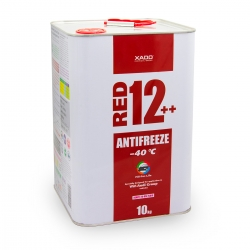 Антифриз для двигателя Antifreeze Red 12++ -40⁰С 10 л (XA 50409)